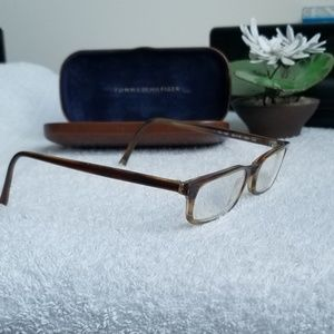 Vintage Italian Tommy Hilfiger RX Glasses w/ Case